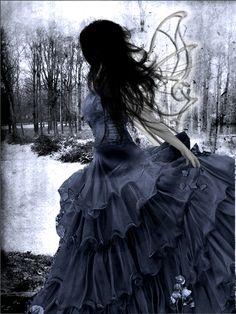 Dark fairy by ~Enjyu666 on deviantART