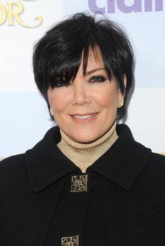 Kris Jenner Layered Razor Cut - Layered Razor Cut Lookbook - StyleBistro