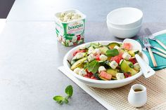 Créatifs avec Boursin ® Boursin, Fruit Salad, Toast, Snacks, Midi, Frittata, Quinoa Salad, Salads, Cheese