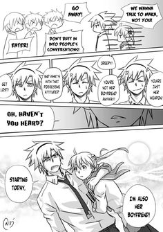 The more SoMa version of The Other Comic, based on Gintama ep. 114 Gintama x Soul Eater no matter what version, you ended up being her boyfriend, huh, Soul? Soma Soul Eater, Soul Eater Funny, Soul Eater Death, Soul Eater Evans, Soul Eater Manga, Cute Couple Comics, Couples Comics, Anime Soul, Anime Eyes