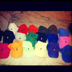 60f37168937 I loooove my polo hats ... A girls gotta have options Polo Hats