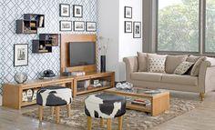 Tok&Stok Homecinema Integre o home cinema à sala de estar para divertir-se junto aos amigos e familiares.