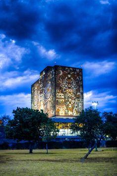 Biblioteca Central UNAM, CDMX
