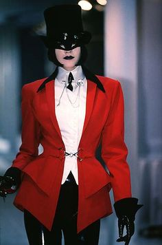 My Fav designer, Vintage Thierry Mugler, My main Inspiration, Love this Jacket