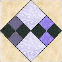"""Quilt-Pro Systems - Quilt-Pro - Block of the Day- Four Patch: Finished block: 6""""x6"""" inches  The Block of the Day is available to all quilters, regardless of whether you own our software programs.  You can download the Block of the Day as a .pdf file. http://www.quiltpro.com/page/BlockOfDay/2014-05-26"""