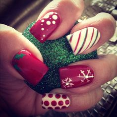 Christmas #nailart