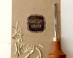 Custom Rubber Stamps, Reserved for Beran