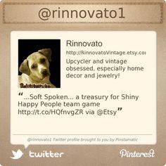 www.twitter.com/rinnovato1 profile courtesy of @Pinstamatic (http://pinstamatic.com)