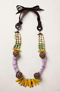 Anthropologie - Tagua Talisman Necklace
