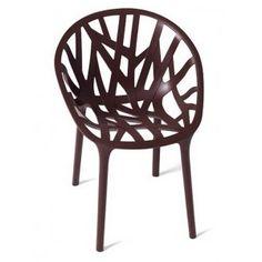 Vitra - Vegetal stol - Chokolade