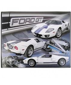 Ford - Ford GT Sports Car Metal Print