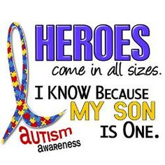 My son is not autistic, but my friend's is.  By the way my sons think her son is AWESOME!