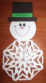 snowflake activities, snowflake crafts, snowflake bulletin boards, snip snip…