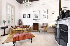 Stunnnig Victorian-Era Home Transformation in Melbourne | HomeDSGN, a daily source for inspiration and fresh ideas on interior design and home decoration.