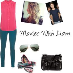 """Movies With Liam"" by fashion-girl1234 ❤ liked on Polyvore"