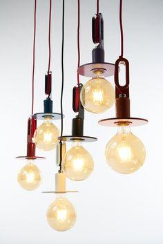 Direct light metal pendant lamp - ZAVA