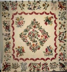 Homage to Mary Brown - Pattern by Patricia Cox - Applique & Quilting by Gladys Raschka