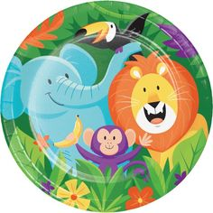 Check out the deal on Jungle Safari 9-inch Plates at Party at Lewis. #junglepartyideas #jungleparties #junglepartythemes #junglebirthdays #junglesafariparty #junglethemepartyideas #junglethemebirthdayparty #junglethemeparties #safarijungleparty #junglebirthdaypartyideas #junglebirthdayparties #junglepartydecorations #junglebirthdaytheme #safariparty #junglesafaribirthdayparty #junglekidsparty #partyjungletheme #junglethemebirthday #babyshower  #1stbirthday #props #themepartyideas