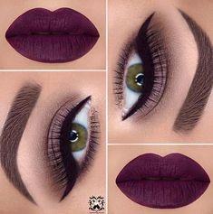 21 Makeup Ideas for Thanksgiving Dinner: #20. BOLD LIP COLOR; #makeup