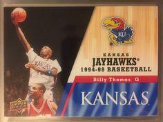 2013 Upper Deck Kansas Jayhawks Billy Thomas 58 Near Mint Combined s H | eBay