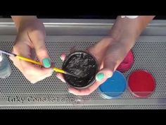 Face and Body Painting Basics - Paint Consistency - YouTube