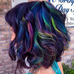 Hair Color How To: Neon Rainbow by Mary Thomaston | Beauty Launchpad