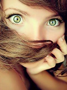 Stunning eyes. Big, beautiful.
