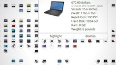 Find the Right Laptop for You with This Interactive Comparison Chart: Whether you're in the market for an ultrabook or a true-to-form laptop, finding the perfect one can be tough. This expansive chart lets you filter memory, screen resolution, screen size, weight, and other specs for easy comparisons.