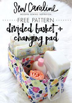 Divided Basket + Changing Pad Tutorial