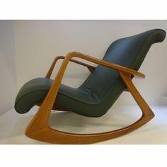 Fábrica de Cadeiras VK ou Poltronas VK Balanço do designer Vladimir Kagan