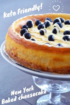 Keto Cheesecake (new york baked cheesecake) is not a complicated recipe, its mos. , Keto Cheesecake (new york baked cheesecake) is not a complicated recipe, its mostly waiting for the middle to cook and cool without cracking! Desserts Keto, Brownie Desserts, Keto Friendly Desserts, Keto Snacks, Dessert Recipes, Dessert Ideas, Best Keto Cheesecake Recipe, New York Baked Cheesecake, Keto Cake