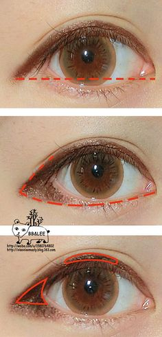 puppy eye makeup - Google Search