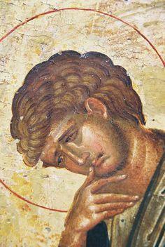 Sf. Ioan Evangheistul- detaliu din Rastignirea