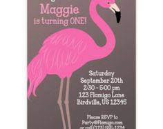 Popular items for pink flamingoes on Etsy