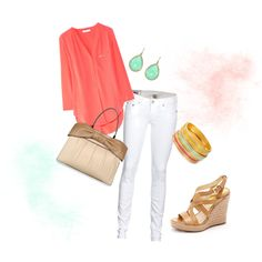 Need some white skinnies (created by abby8child on Polyvore)