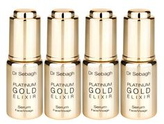 Dr Jean-Louis Sebagh's Platinum Gold Elixir - The Gold and Platinum anti-aging serum    Doctor's Orders  With a client list that reads like a who's who in the fashion and entertainment world, Dr Jean-Louis Sebagh is at the top of his game as an aesthetic surgeon. Born in Algeria, Dr Sebagh obtained a medical degree from the University of Paris and then learned the tricks of his trade at one of the best plastic...  Expand this post »