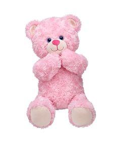 16 in. Cuddly Pink Teddy | Build-A-Bear