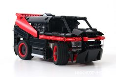 LEGO: A-TEAM Radio Controlled GMC Vandura Truck! #80s #TV