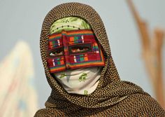IRAN, minab.  Traditional mask from Persian Gulf | © Elena Senao