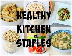 healthy kitchen stap
