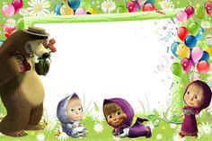 masha and the bear birthday decorations - بحث Google