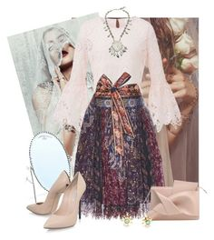 """""""Soft Boho"""" by blaspheme ❤ liked on Polyvore featuring Child Of Wild, Etro, Casadei, La Kaiser and Vintage"""