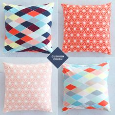 DIY – How To Make A Polka Dot Cushion Cover – Bright.Bazaar