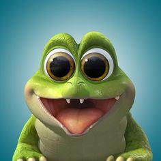 Disney and Pixar Cute Disney, Disney Art, Disney Pixar, Disney Characters, Tinkerbell And Friends, Disney Fairies, Animated Frog, Pirate Fairy Party, Baby Fairy