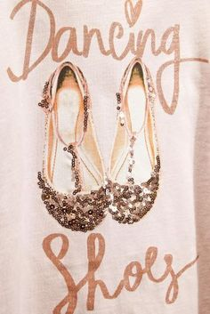 Buy Pink Sparkly Ballet Shoes T-Shirt (3-16yrs) from the Next UK online shop