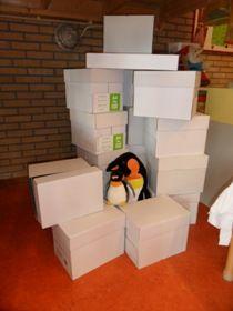 Bouwhek: jufjanneke.nl - Noordpool en Zuidpool Arctic Explorers, Preschool Weather, Prop Box, Dramatic Play, Winter Wonderland, Crafts, Penguins, Places, Sea Ice