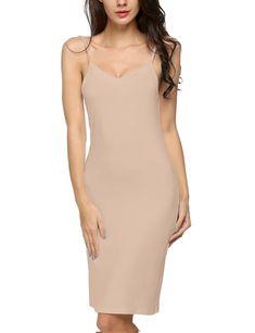 a38fb4177fb396 Corgy Women Slimming Body Full Slip For Under DressesSkinXXL -- Click image  for more details