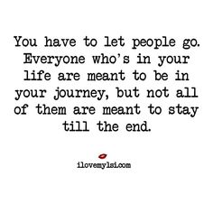Let people go