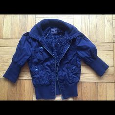 19eb812d85c Shop Women s Forever 21 Blue size S Utility Jackets at a discounted price  at Poshmark.
