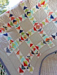 Schnibbles Small Quilt Parade: Whit (A Quilting Life)